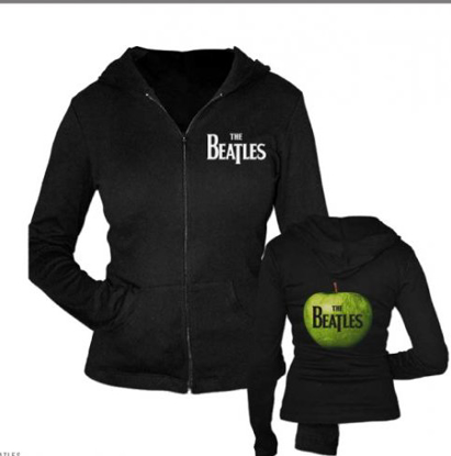 Picture of Beatles Hoodie: The Beatles Drop T & Apple Logo