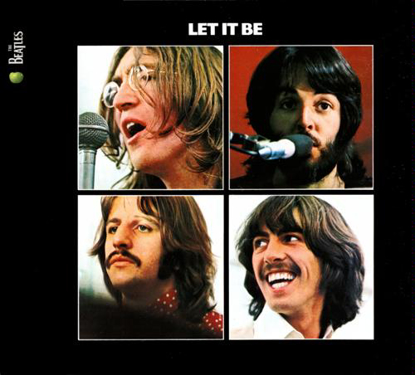 Picture of Beatles LP Let it Be (2012 Remaster) LP/RECORD