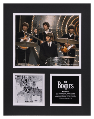 Picture of Beatles Photographs: The Beatles 11x14 Matted Photo Collection The Beatles Matted Photo Collection 1966