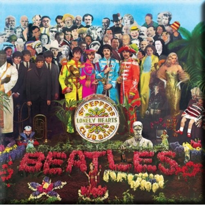 Picture of Beatles Magnets: The Beatles Many Styles MAG-Sgt. Peppers