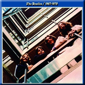 Picture of Beatles Magnets: The Beatles Many Styles MAG-The Beatles Blue Album 1967-1970