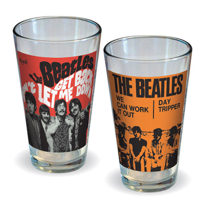 Picture of Beatles Glasses: The Beatles Collector's Series