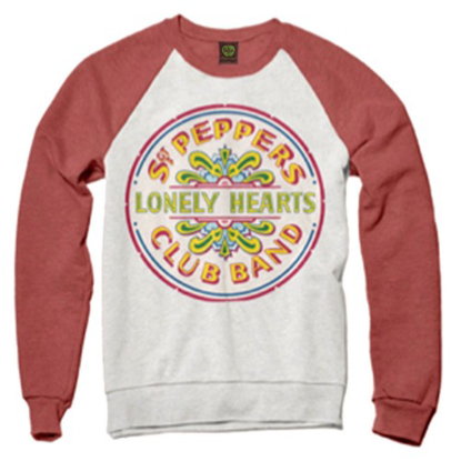 Picture of Beatles Sweat Shirt: - Beatles Sgt. Pepper Drum Sweatshirt