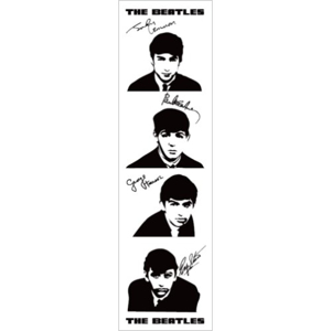 Picture of Beatles Bookmarks: The Beatles Many Styles BM-The Beatles Signatures