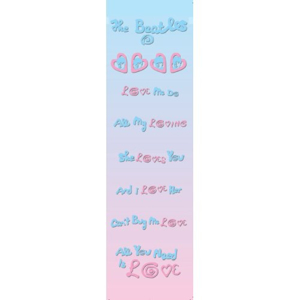 Picture of Beatles Bookmarks: The Beatles Many Styles BM-Love Me Do