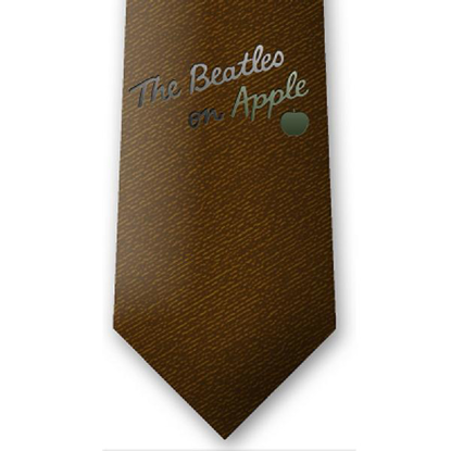 Picture of Beatles Tie: Burnt Amber
