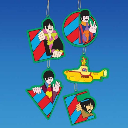 Picture of Beatles Ornament: The Beatles 5-Piece Yellow Sub