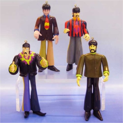 Picture of Beatles Ornament: The Beatles Fab Four (4 Piece) Set