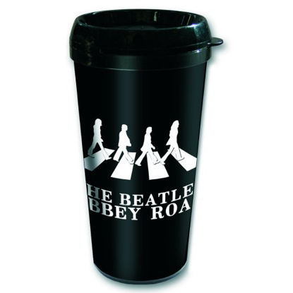 "Picture of Beatles Travel Mug: The Beatles ""Abbey Road Crossing"" Mug"
