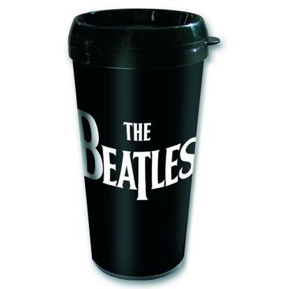 "Picture of Beatles Travel Mug: The Beatles ""Drop T"" Mug"
