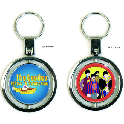 Picture of Beatles Spinner Key: The Beatles - Yellow Submarine