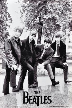 Picture of Beatles ART: BEATLES 1963 (UK) 14X21 CANVAS