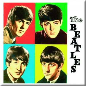 Picture of Beatles Magnets: The Beatles Many Styles MAG-Colored Boxes