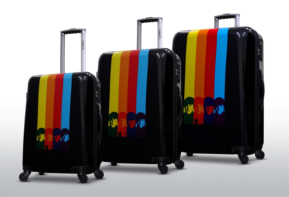 Beatles Luggage: For Sale 3 Piece Set -Beatles Fab Four ...