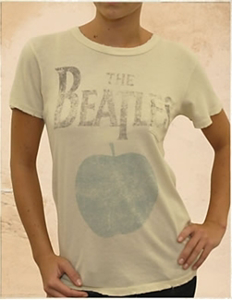 Picture of Beatles T-Shirt: The Beatles Women's Classic Apple Tee XL - Jrs/Ladies