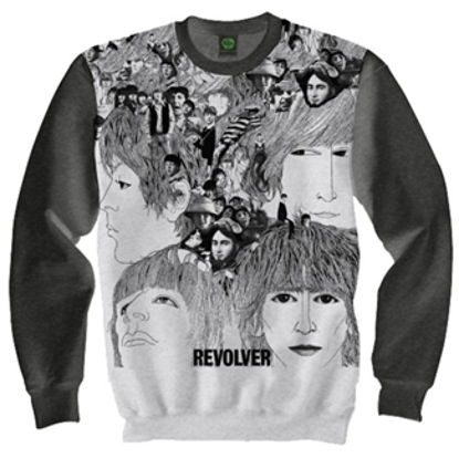Picture of Beatles Sweat Shirt: - Beatles Revolver Sweatshirt XL