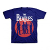 Picture of Beatles Youth T-Shirt: 64 Silhouette Circle