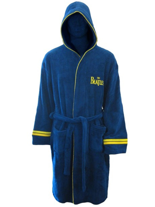 Picture of Beatles Robe: Yellow Submarine Bath Robe