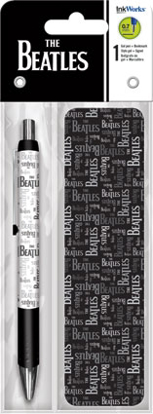 Picture of Beatles Pen: Gel Pen with Bookmark