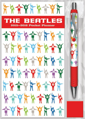 Picture of Beatles Planner: Help Planner & Pen