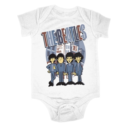 Picture of Beatles Onesie:THE BEATLES THE CITY