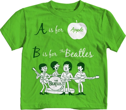Picture of Beatles T-Shirt: Beatles Toddler  A -B Toon