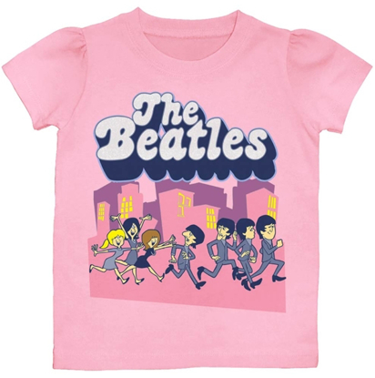 Picture of Beatles T-Shirt: Beatles Girls Toddler Toon