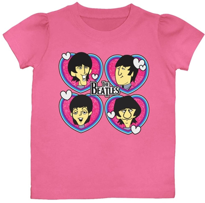 Picture of Beatles T-Shirt: Beatles Girls Toddler Love Toon