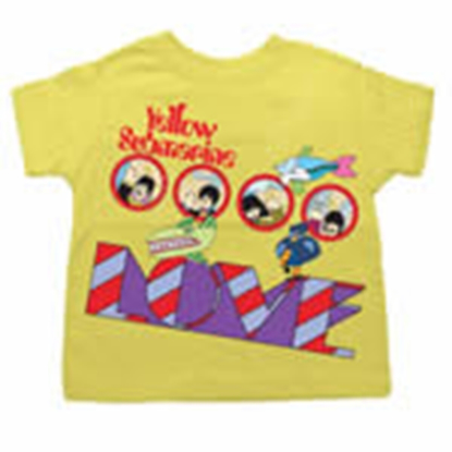 Picture of Beatles T-Shirt: BeatlesToddler Yellow Sub Love