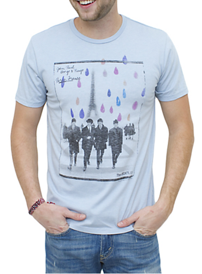 Picture of Beatles T-Shirt: Beatles in Paris! Tee