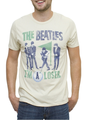 Picture of Beatles T-Shirt: Playing Golf  - I'm a Loser