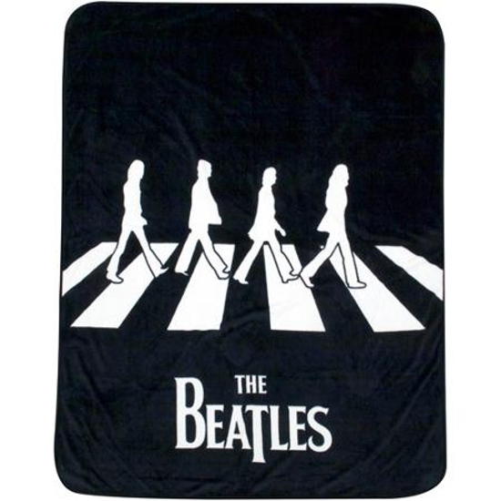 "Picture of Beatles Blanket: The Beatles ""Abbey Road"" Plush Throw"