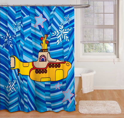 Picture of Beatles Shower Curtain: Yellow Submarine