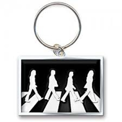 Picture of Beatles Keychain: The Beatles Abbey Road Key Chain