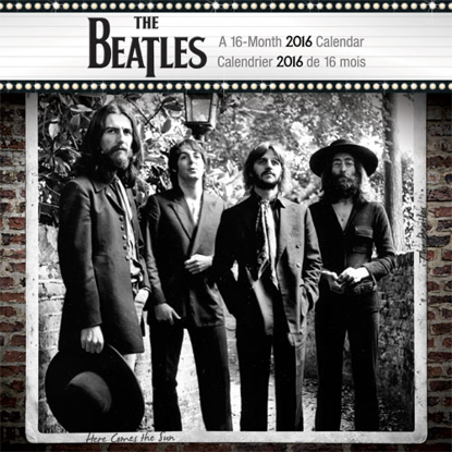 Picture of Beatles Calendar: 2016 Wall Calendar  (Bilingual FRE)