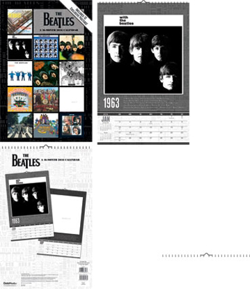 Picture of Beatles Calendar: 2016 Oversized Wall Calendar