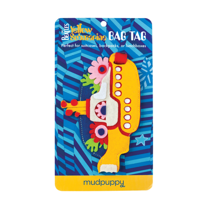 Picture of Beatles Bag Tag: Yellow Submarine Bag Tag