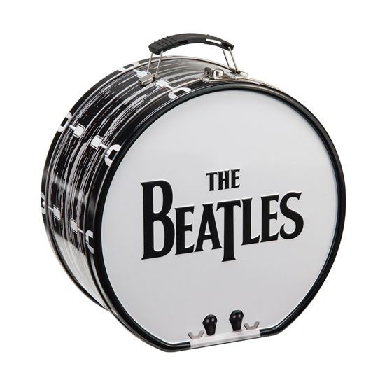 Picture of Beatles Lunch Box: Drum Shaped Logo