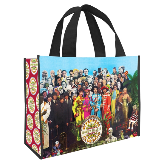 Picture of Beatles BAG: Sgt Pepper Extra Large Recycled Shopper Tote