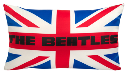 "Picture of Beatles Pillow: The Beatles ""Union Jack"" Deco Pillow"