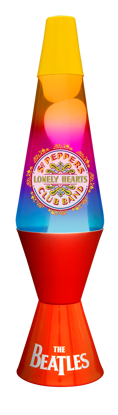 Picture of Beatles Lava Lamp: Sgt Pepper