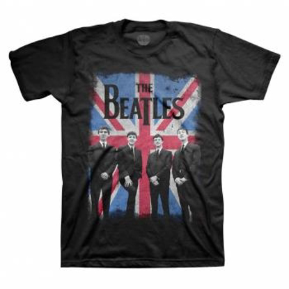 Picture of Beatles Adult T-Shirt: Beatles Union Jack