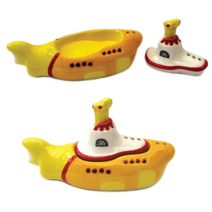 Picture of Beatles Salt & Pepper: The Beatles Yellow Submarine Salt & Pepper Set