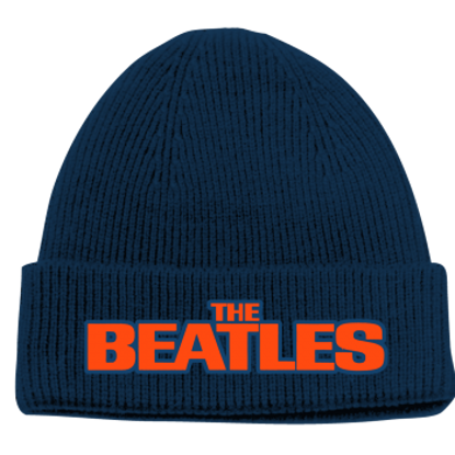 Picture of Beatles Beanie:Beatles Logo Blue