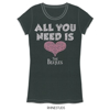 Picture of Beatles Jr's T-Shirt: All you Need is Love Rhinestone