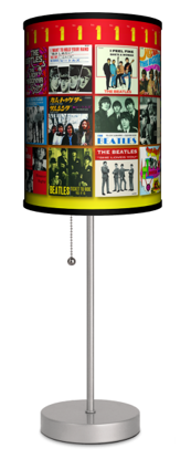 Picture of Beatles Lamp  & Shades: Single Sleeves from around the World