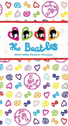 Picture of Beatles Planner: 2017-2018 Pocket Planner