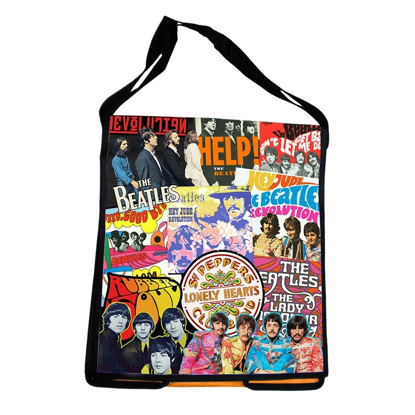 Picture of Beatles BAG: Beatles Recycled Messenger Tote