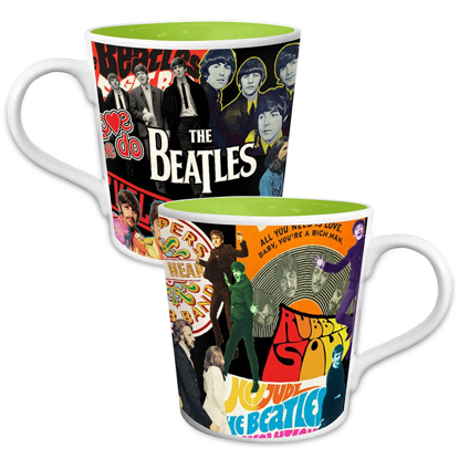 Picture of Beatles Mugs: Album Collage Mug