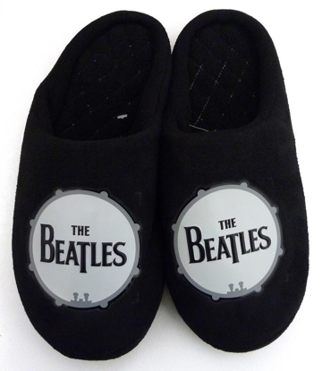 Picture of Beatles Footwear: The Beatles Drum Logo Men's Slippers